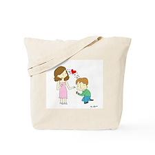 Cute Proposal Tote Bag
