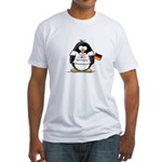 Germany Penguin Fitted T-Shirt