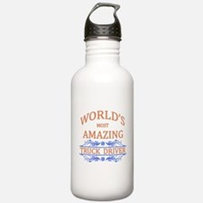 Truck Driver Water Bottle
