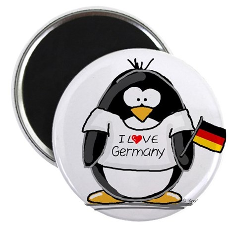 Germany Penguin Magnet