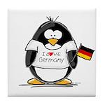 Germany Penguin Tile Coaster