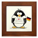 Germany Penguin Framed Tile
