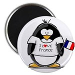 France Penguin Magnet