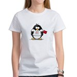 China Penguin Women's T-Shirt