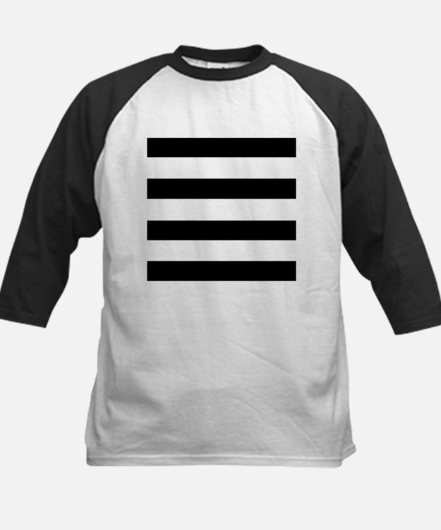 modern black white stripes Baseball Jersey