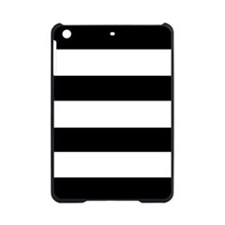 modern black white stripes iPad Mini Case