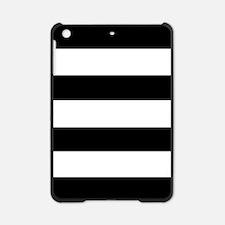 modern black white stripes iPad Mini Case