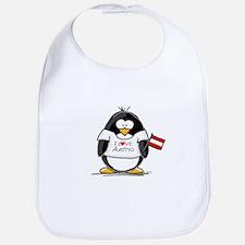 Austria Penguin Bib