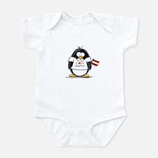 Austria Penguin Infant Bodysuit