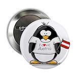 Austria Penguin Button