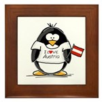 Austria Penguin Framed Tile