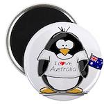 Australia Penguin Magnet