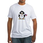 America Penguin Fitted T-Shirt