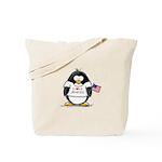 America Penguin Tote Bag