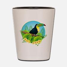toucan Shot Glass