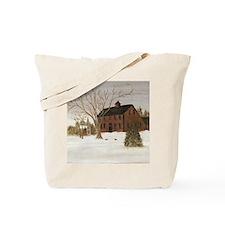 Cute New england christmas Tote Bag