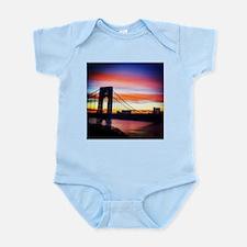 NYC Sunset - George Washington Bridge Body Suit