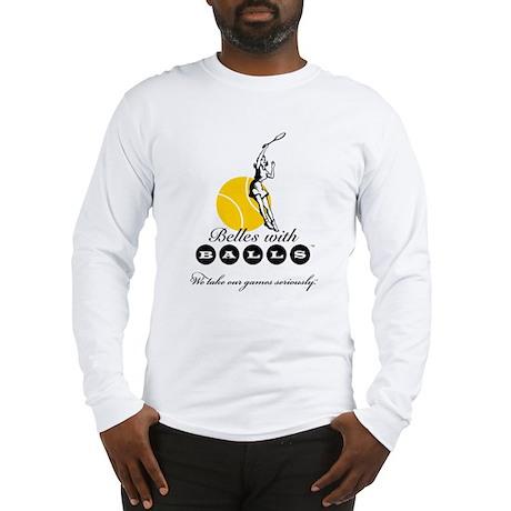 Belles With Balls Tennis Long Sleeve T-Shirt