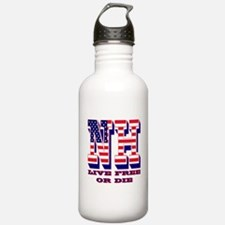 New Hampshire NH Live Water Bottle