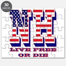 New Hampshire NH Live Free Or Di Puzzle
