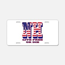 New Hampshire NH Live Free Aluminum License Plate