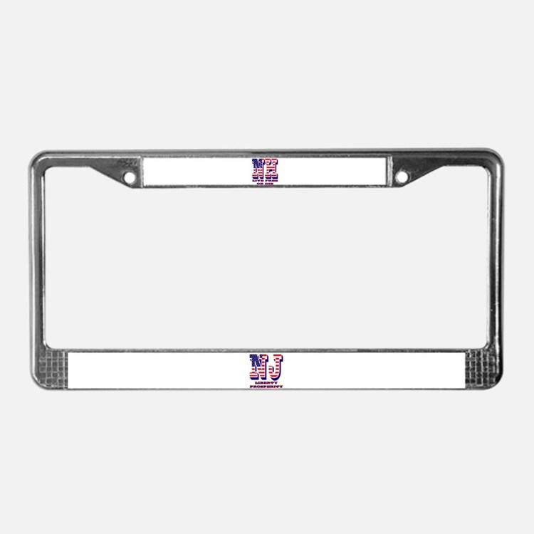 New Hampshire NH Live Free Or License Plate Frame