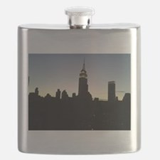 NYC - Empire State Building Skyline Flask