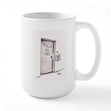 Pavlov Dog Labs mug (large) (black & white)