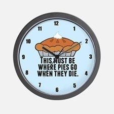 Pie Heaven Wall Clock