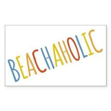 Beachaholic Decal