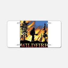 Wildfire Aluminum License Plate