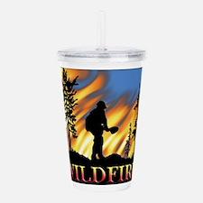 Wildfire Acrylic Double-wall Tumbler