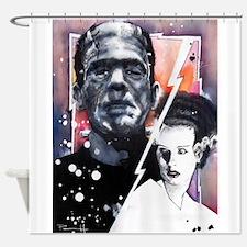 Frankenstein's Bride Shower Curtain
