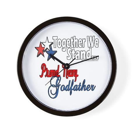 Navy Godfather Wall Clock