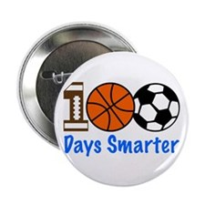 "Cute 100 days 2.25"" Button"