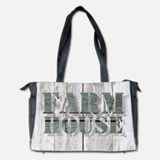 barn wood farmhouse Diaper Bag