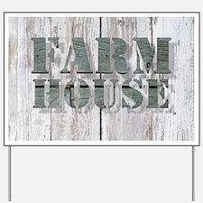 barn wood farmhouse Yard Sign