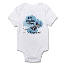 My Daddy Flies Airplanes Boy Baby bodysuit