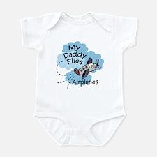 My Daddy Flies Airplanes Boy Baby bodysuit
