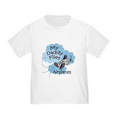 My Daddy Flies Airplanes Boy Baby T-Shirt