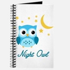 Night Owl (Blue) Journal