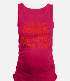 This Is My Zombie Killing Tank Maternity Tank Top