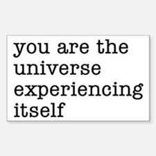 You Are The Universe Sticker (Rectangle)