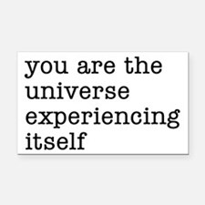 You Are The Universe Rectangle Car Magnet