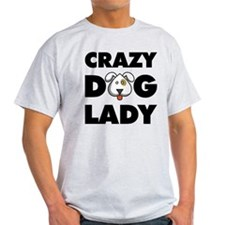 Unique Crazy dog lady T-Shirt