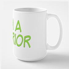 I'm A Warrior [Grn] Large Mug