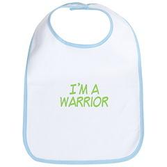 I'm A Warrior [Grn] Bib