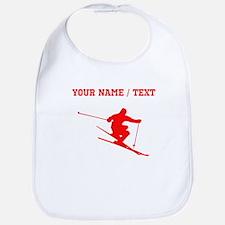 Red Skier (Custom) Bib