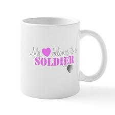 My 3 belongs to a Soldier Mugs