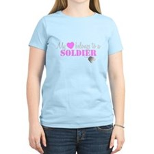 My 3 belongs to a Soldier T-Shirt